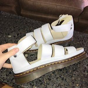 Size 9, Clarissa Sandal, Dr. Marten, Purple, NEW